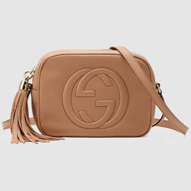 Gucci Soho маленькая кожаная Disco Bag