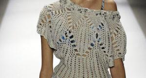 Блуза с подиума от Carlos Miele