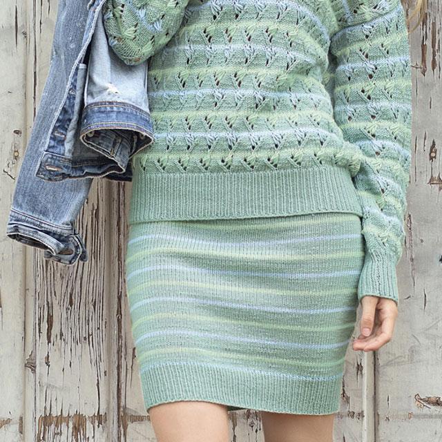 Фото юбки в полоску