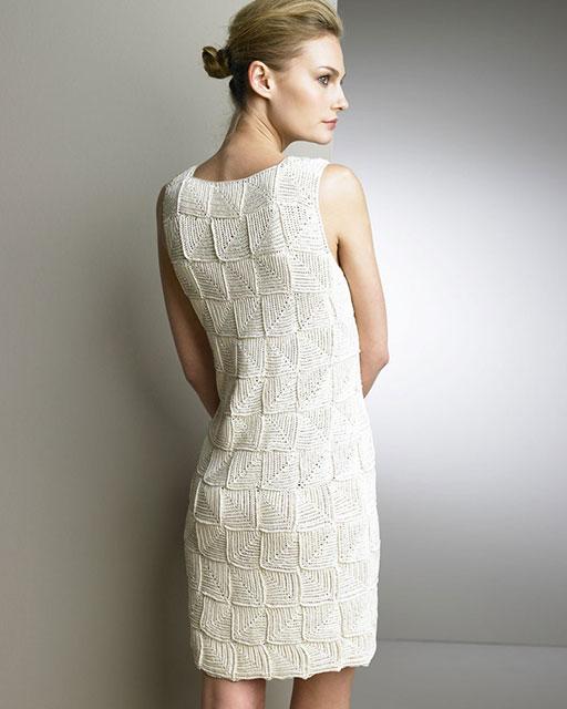 платье от Oscar de la Renta сзади
