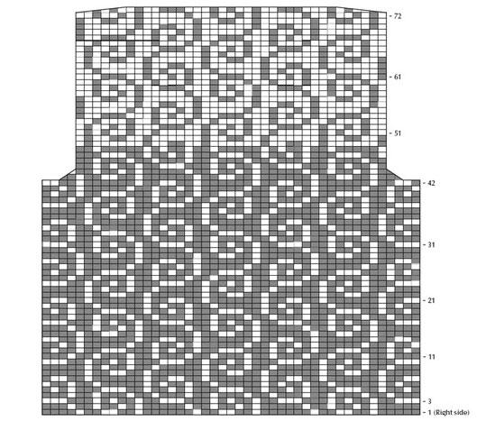Схема спинки