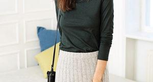 Юбка в резинку по форме юбки-карандаш