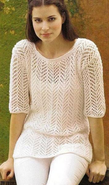 Фото пуловера крупно