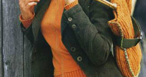 Короткая юбка с сумкой