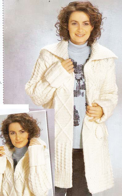 Белое пальто 48-52 размера