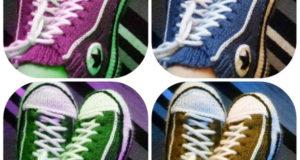 Домашние носки кеды для взрослых