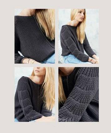 Фото деталей пуловера
