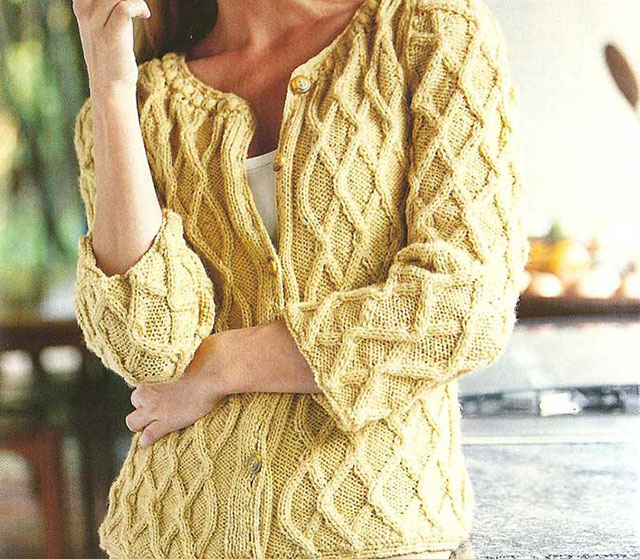 Жакет цвета спелой пшеницы