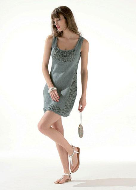 Платье Парижский шик бирюзового цвета