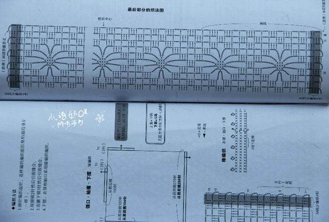 Пляжная туника узором Паучки крючком – 9 моделей со схемами и описанием