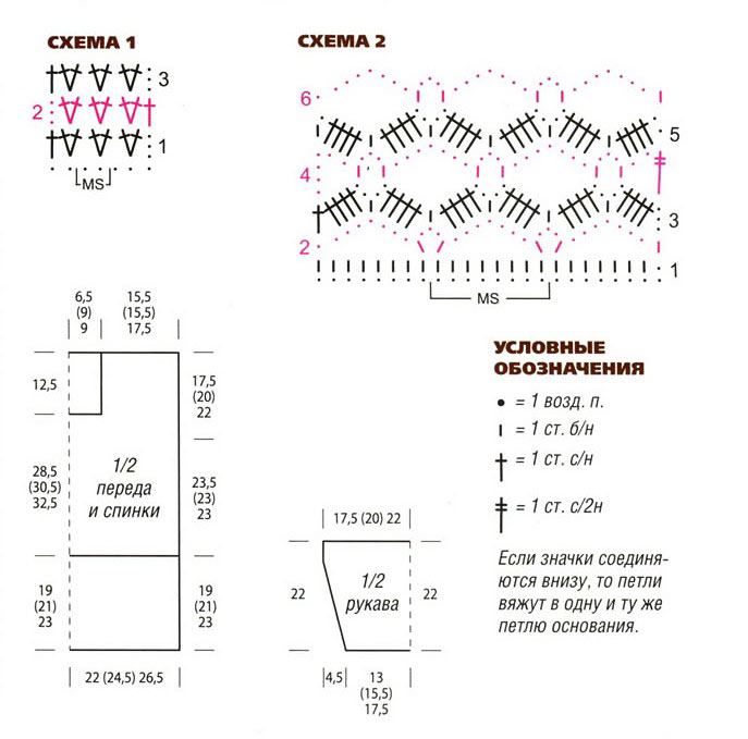 Схемы и выкройка