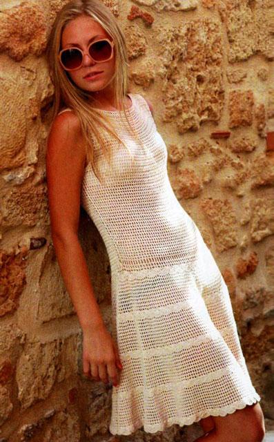 Летнее платье для начинающих