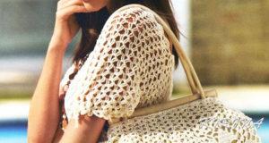Комплект платья с сумкой