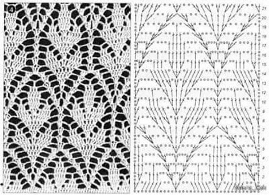 Схема с образцом