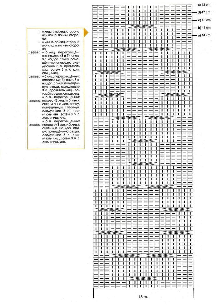 Схема с условными обозначениями