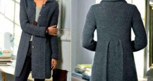 Классическое стильное женское пальто