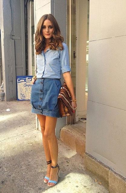 Модные джинсовые юбки 2020 - 2021 – самые популярные тренды и тенденции, новинки юбок из денима, стильные образы и модели джинсовых юбок на фото, фасоны