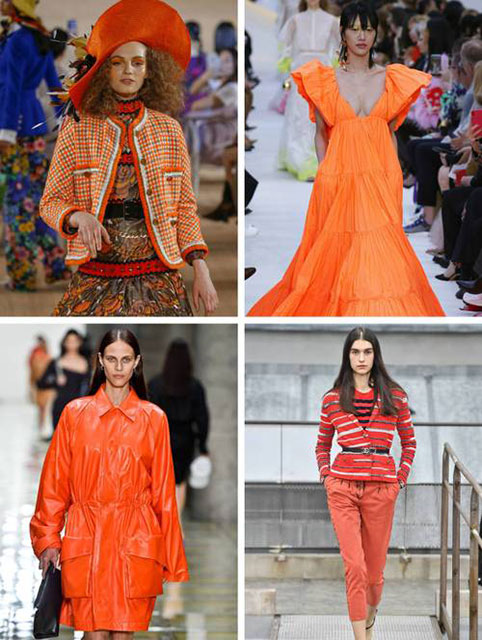 Мандарин или ярко-оранжевый