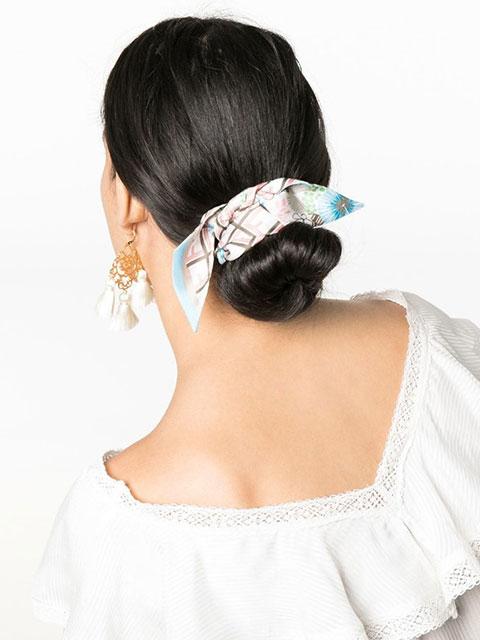 Модные аксессуары для волос весна - лето 2020 – тренды и тенденции, новинки стильных женских образов и причесок