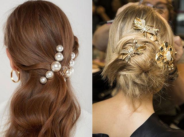 Модные аксессуары для волос весной и летом 2020