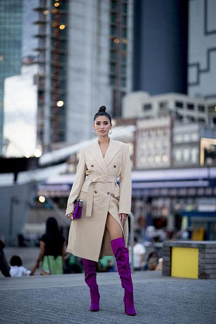 Популярные модные тенденции 2020 года от уличных стилистов