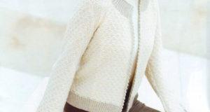 Женский жакет из кашемира