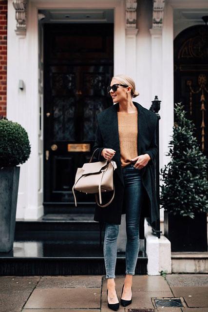 Модное «мужское» пальто