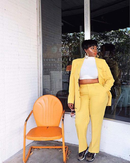 Модная офисная одежда 2020 на полных женщин