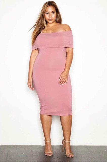 Модные вечерние платья для полных 2020