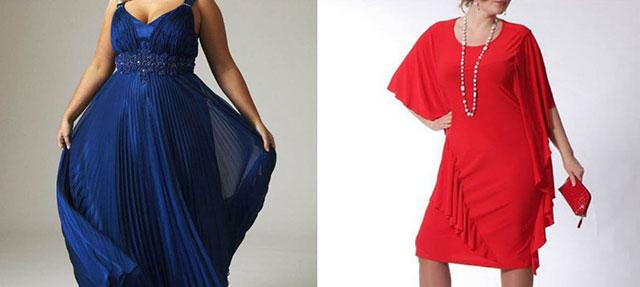Модные платья для полных женщин 2020