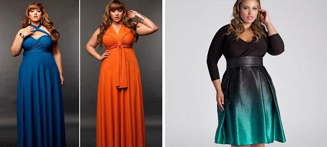 В тренде платья-трансформеры 2020 для полных дам