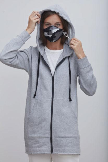 Худи с капюшоном Grey State Protective Sunday Eco