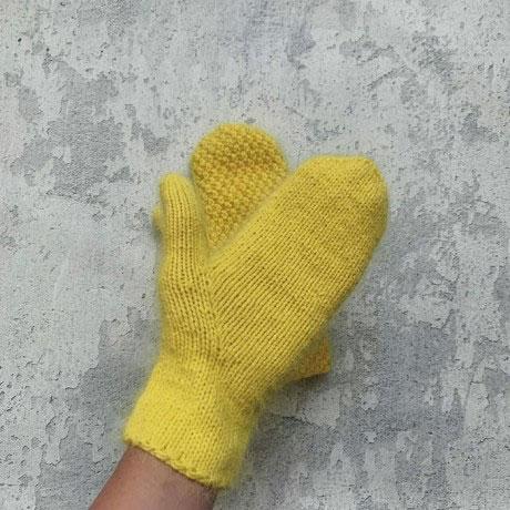 Пуховые рукавицы