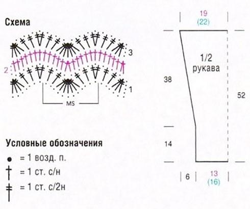 Схема и выкройка