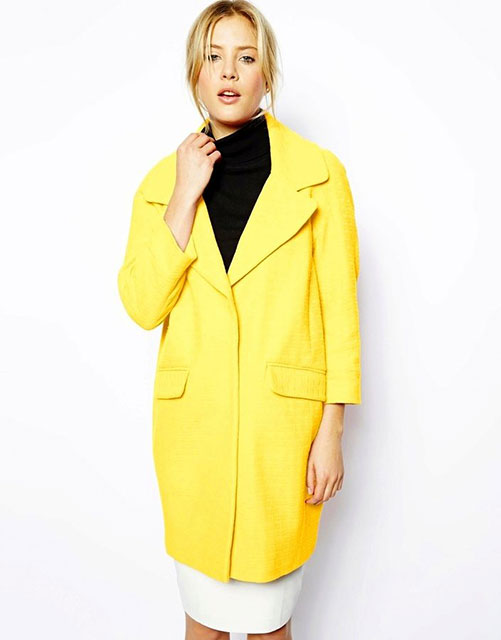 Кокон желтого цвета