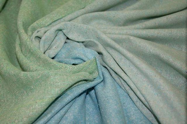 Ткань по внешнему виду мало напоминает привычный натуральный шелк